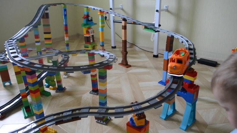 Lego duplo 10872 Железнодорожный мост