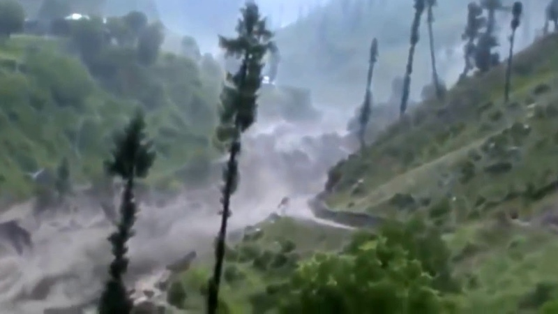 Потоп, цунами в Индонезии (стихийная съемка, 28 сентября 2018 года)