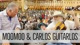 Carlos Guitarlos &amp MooMoo with a 1947 Martin 000-18 here at Norman's Rare Guitars