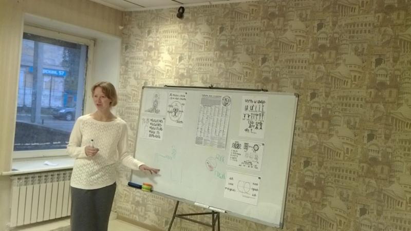 Занятие по ВсеЯСветной Грамоте в Чите (часть лекции)