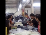 Students Visit to Sangotra Fashions Pvt. Ltd. - Bhandup