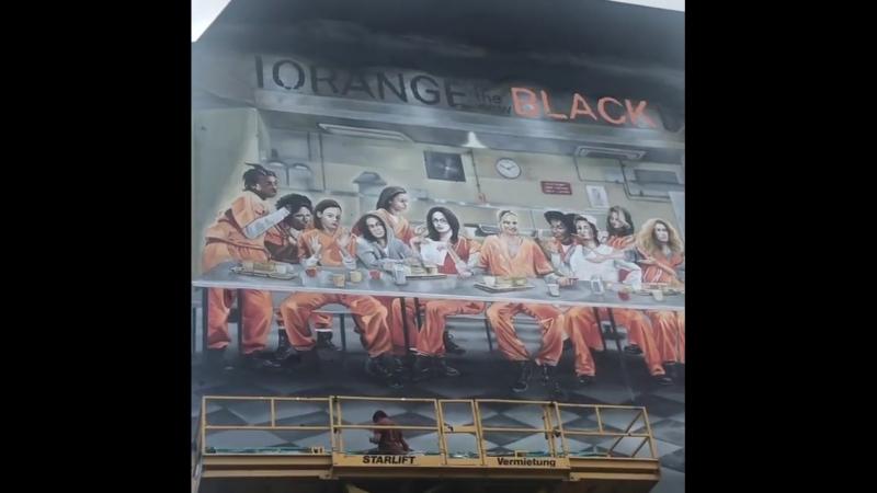 OITNB Mural in Berlin