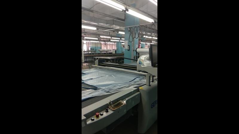 Экскурсия на фабрику Синар. Раскройный цех