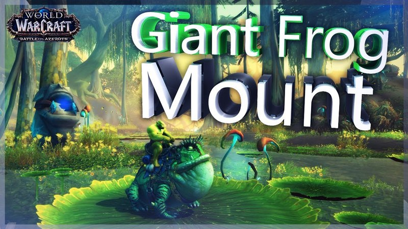 Giant Frog Mount Preview ✪ BFA Alpha ✪