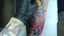 Tattoo Snake and rose | Newshooll | Neo traditional - Тату Змеи и розы | Ньюскул | Неотрад