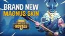 BRAND NEW Magnus Skin!! - Fortnite Battle Royale Gameplay - Ninja KingRichard