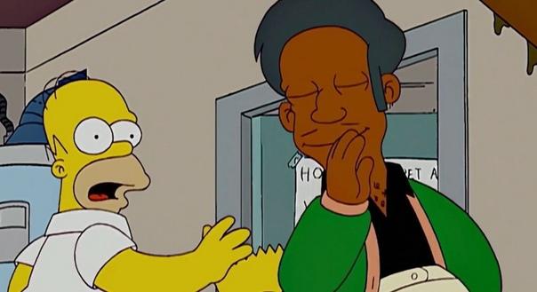 «Симпсоны» могут остаться без персонажа из-за обвинений в расизме Создатели культового сериала «Симпсоны» могут отказаться от персонажа Апу Нахасапимапетилона из-за его индийского акцента, пишет