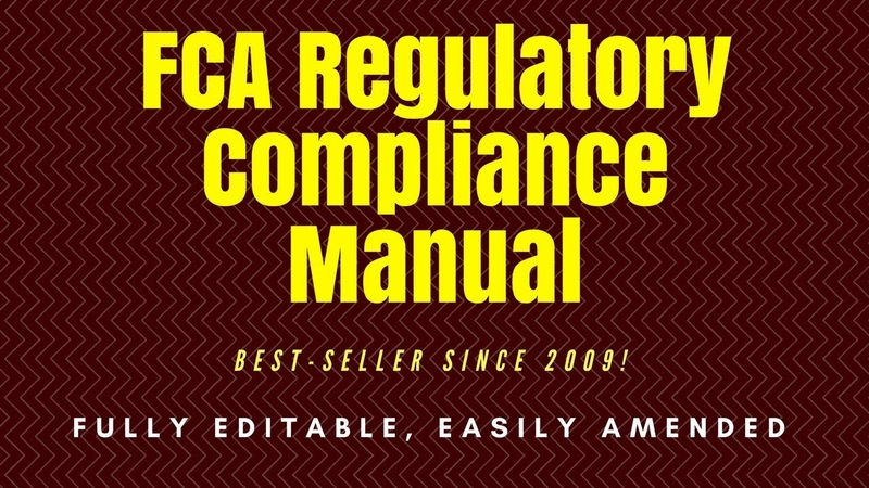 Regulatory Compliance Manual for UK Financial Services