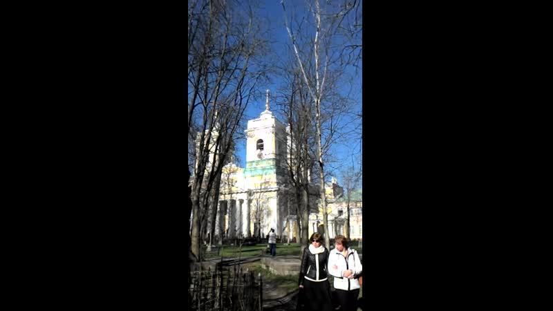Александро-Невская Лавра Вербное Воскресенье