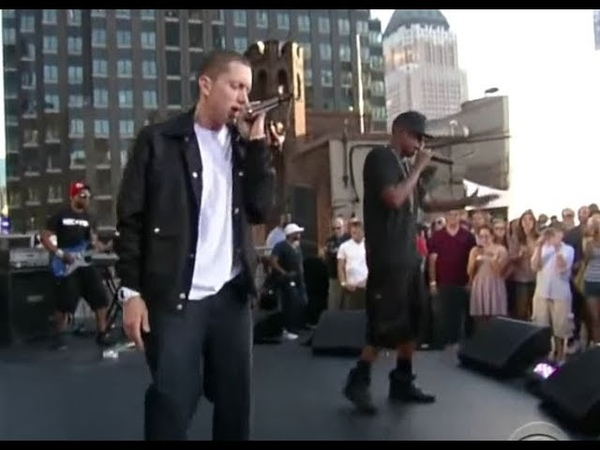 Jay Z feat. Eminem - Renegade LIVE in New York