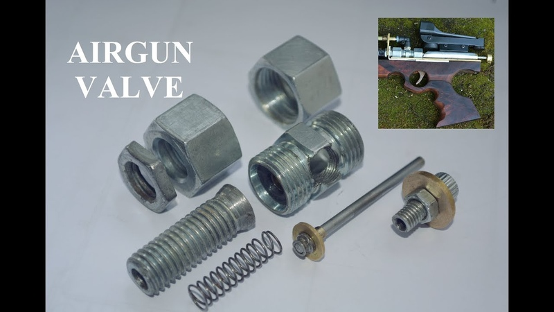 Homemade PCP Air Gun Valve for Homemade Airguns