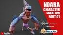 NOARA GAME CHARACTER CREATION PIRANHA part01