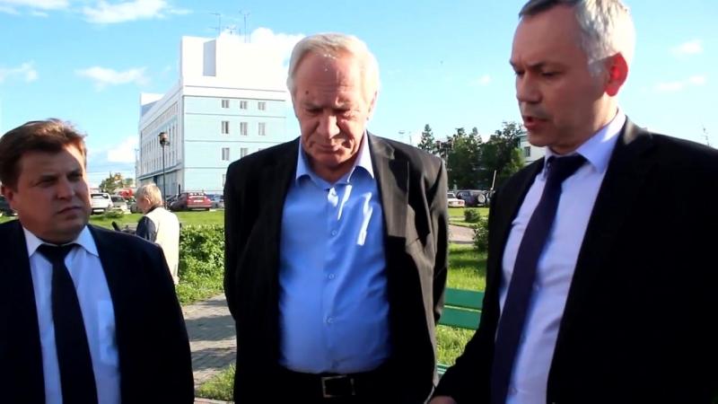 Травников одобрил памятник на привокзальной площади Барабинска