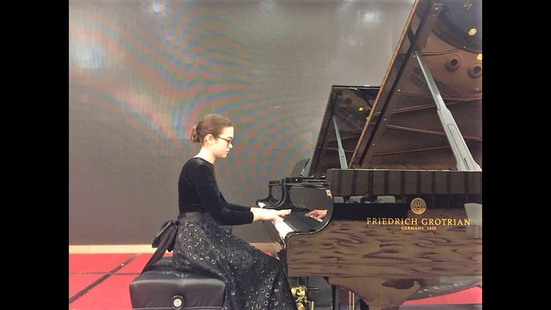 09.08.18 A. Stychkina XI-th International F. Chopin Competition for Young Pianists, Foshan, China