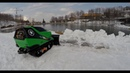 Robot Snow Plowing From Cerreto Laghi ITALY