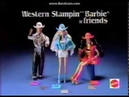 1993 Western Stampin' Barbie Commercial