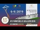 ATC Wicker Furniture Manufacturer At Vifa-Expo 2019