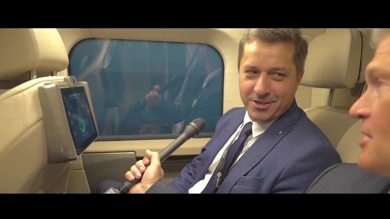 InnoTrans 2018 презентация скоростного юнибуса (до 500 кмчас)