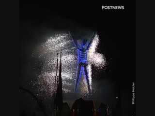 Burning man 2018: а. азимов