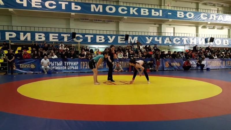 Кровью и Потом 22 28 10 2018 62 No Gi Санаева VS Степанова