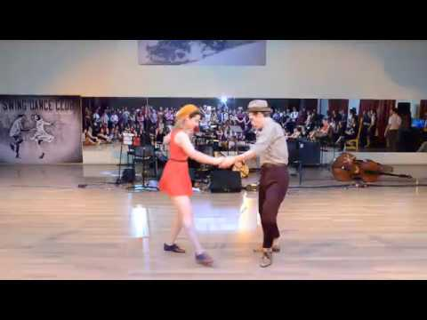 Lindy Hop Strictly - Nastya Gorban Kir Rodionov (Swinglandia 2018)