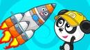 Развивающий Мультик Для Детей Про Ракету и Космос – Обучающие Мультфильмы про Машинки Для Малышей