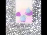 Pastel galaxy nails 🌌