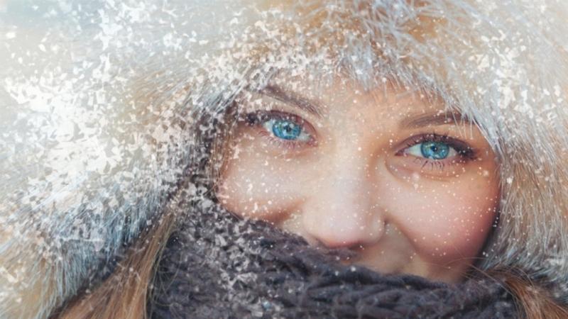 Бесплатный зимний проект Снегом белым для ProShow Producer