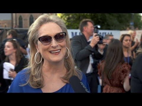 MAMMA MIA 2 Here We Go Again WORLD PREMIERE Interviews Meryl Streep Amanda Seyfried Colin Firth