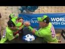 John Cena throws down the Make-A-Wish Arm Wrestle Challenge ArmWrestleChallenge