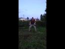 Вечерняя разминка костей💪😁 Рывок гирь по 48 кг