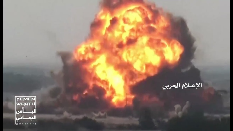 Enclosed ambush destroys 4 mechanisms for invaders in qualitative offensive operations south Kilo 16 West Coast Yemen 22-10-2018