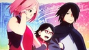 Uchiha Family Happiness - Sakura, Sarada, Sasuke - Boruto Naruto Next Generations SPEED DRAWING