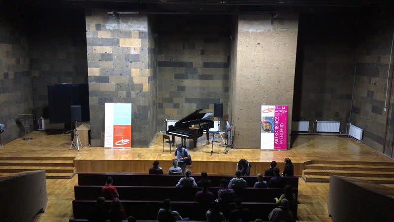 Стрим 161.РУ | Концерт терменвокса и фортепиано в «публичке»