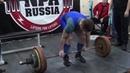 09.12.2018 Дмитрий Исаков (тяга 170 кг)