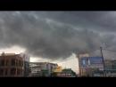 Приближение грозы к Новосибирску 19 06 2018