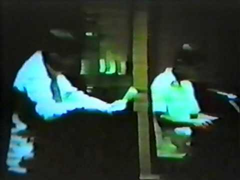 Leonard Nimoy and DeForest Kelley on Stage 1986 Part 03