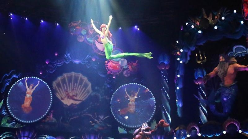東京ディズニーシー 「キング・トリトンのコンサート」新ミュージカ 1252