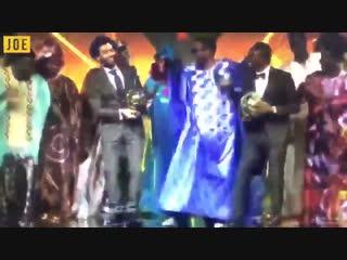 Mo Salah dancing