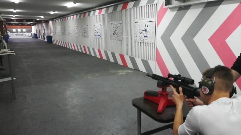 Я. AR-15 с 8-кратным оптическим прицелом (Калибр 5,56 мм)