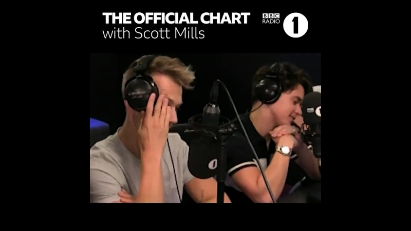 The Vamps on BBC Radio 1 The Official Chart with Scott Mills