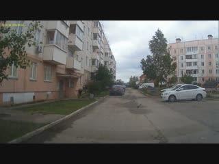 Видеофакт состояния уборки территории внутри квартала ТСЖ