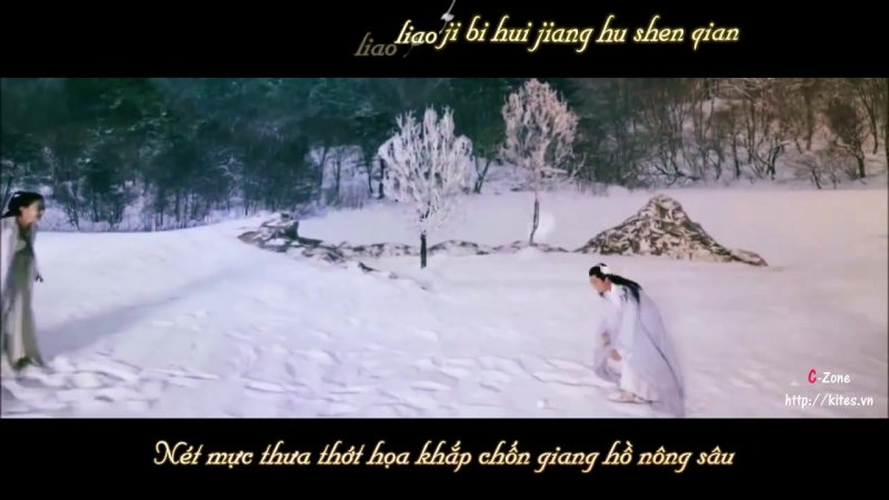 [Vietsub Kara] Thiên Cổ 千古 - A Lan 阿兰 (Ost Hoa Thiên Cốt-花千骨) (Bạch Tử Họa x H_HD.mp4