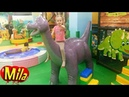 Динозаврики Может Вы Попрятались в Африке Детская Песня про Динозавров ♫ Игровая Комната Динотопия