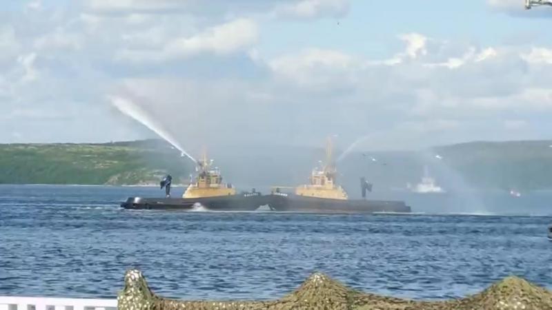 Североморск День ВМФ Вальс буксиров