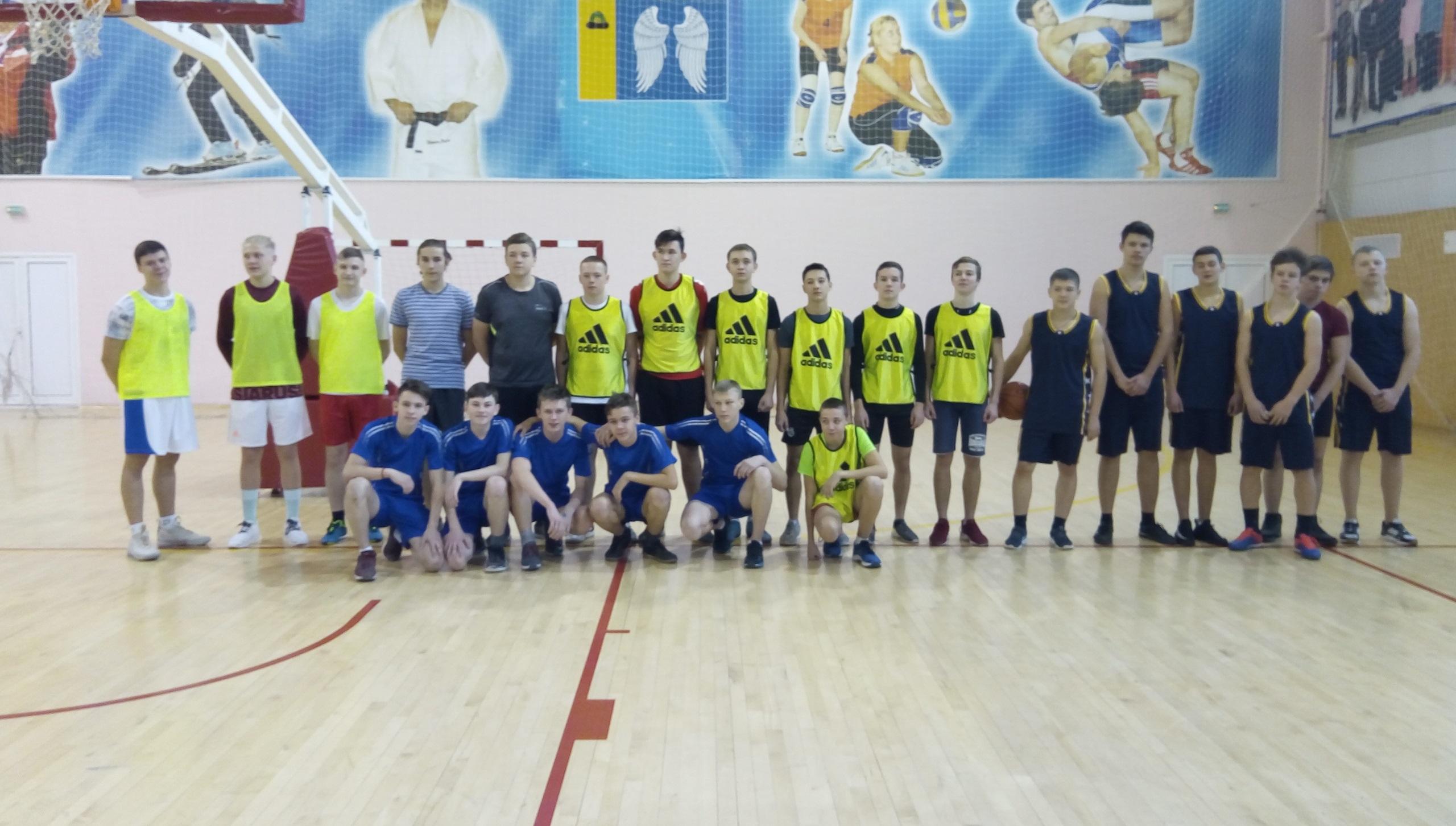 Учащиеся Михайловского района приняли участие соревнованиях по баскетболу «Оранжевый мяч»