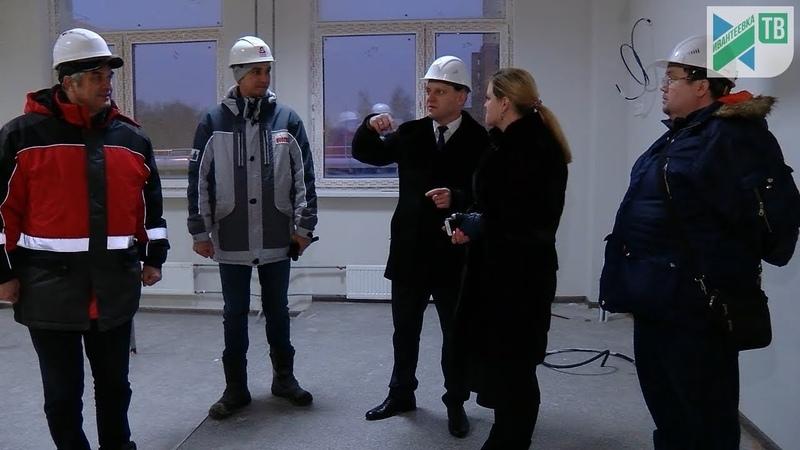 Новая школа на Богданова. Штрафные санкции. Готовность 90%