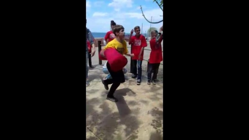 Форт Боярд этап бессмертный бой дерусь с одноклассником