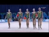 Russia - 3 Balls 2 Ropes Final - WC Tashkent 2018