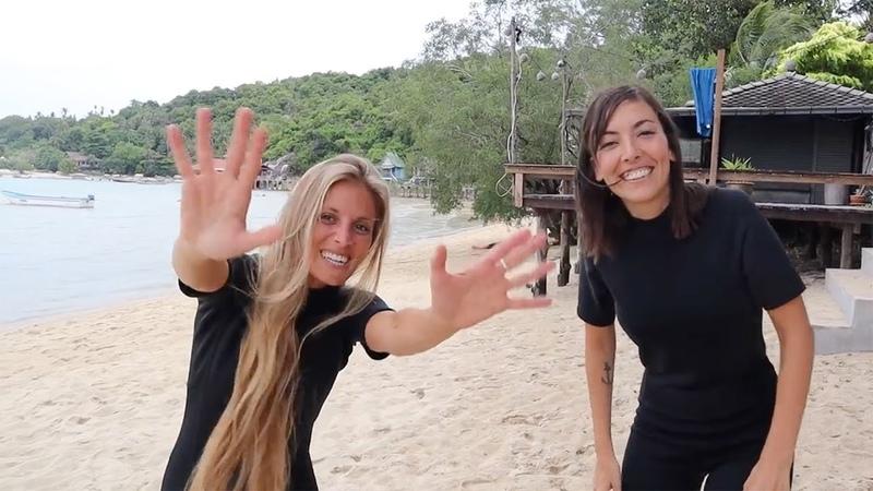 Así fue nuestro PRIMER BUCEO en Tailandia Ihasia Diving Koh Tao